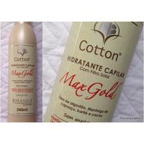 Hidratante Capilar Max Gold Cotton Botanica 340 Ml