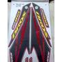 Adesivo Moto Jogo Bros 150 Esd 2007 Vermelha Completo