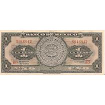 Mexico 1 Peso Calendario 1967 Dmm