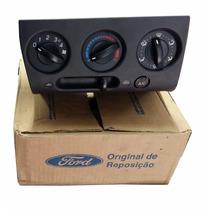 Controle Ventilação A/c + Ar Quente - Fiesta 03/05 -original