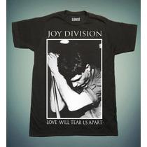 Playera Loust, Joy Division, Ian Curtis.