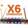 Difusor Aromatico Con Varillas Bambu Pack X6 Fragancia Aroma