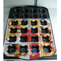 Bandeja Molde Mini Ponquesitos Cupcakes 24 Unid Antiadherent