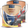 Masilla Epoxi Nautica Revesta 4010 - 2 Comp. - Barcos - 1 Lt