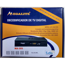 Receptor Tv Digital Abierta Tda Hd Usb + Antena + Cable Hdmi