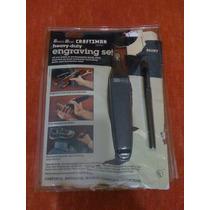 Craftsman Engraving Set 961197 Grabador Metal Y Cristal