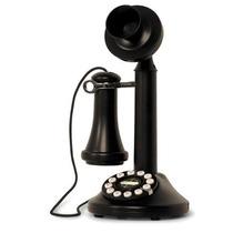 Telefono Tipo Antiguo Disco Antiguedad Auricular Negro