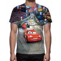 Camisa, Camiseta Disney Carros - Estampa Total