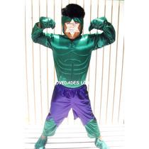 Disfraz Hulk Avengers Capitan America Thor Super Heroes
