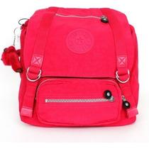 Mochila Backpack @ Kipling @ Joetsu Rosa Azul Color Original