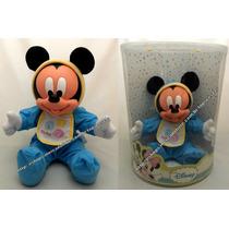 Boneco Mickey Baby Azul Disney Bebê Original Multibrink