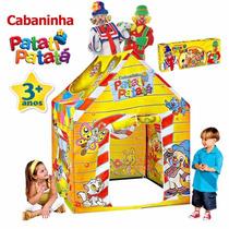 Barraca Toca Casinha Patati Clube Patata Original Multibrink