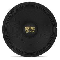 Woofer Eros 18 Polegadas 2250w Target Bass 4.5k Alto Falante