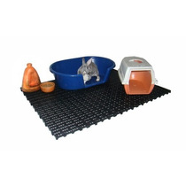 Estrado Piso Pallet Palete Plástico Pet Shop Banheiro Cães