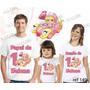 Lebrança De Aniversário Penelope Charminho Camiseta 3 Un