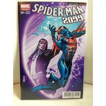 Spiderman 2099 Portada Variante Leonardi Español Televisa