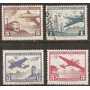 Chile Aviónes Serie Yvert Aereo 203/4 B Año1960-4