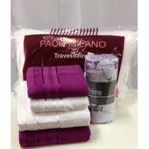 Kit Enxoval/presente Casal Toalha,lençol,fronha,travesseiro