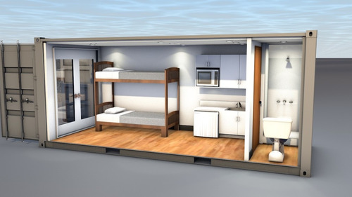 Casa Container 22 Modelos 1de20 6 X 2 4m Leia O
