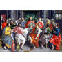 Lienzo Tela La Última Cena Marten De Vos 70 X 100 Arte Sacro
