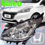 Optica Peugeot 208 Sin Led Original Valeo Izquierda