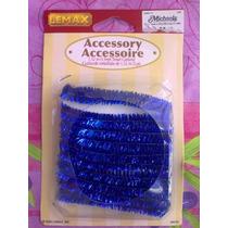Set De Accesorio De Decoracion Azul Para Casitas Miniatura