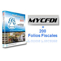 Mybusiness Pos 2011+ 200 Folios Fiscales Factura Electronica