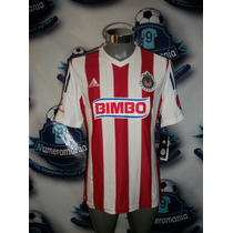 Remate Jersey Chivas Local Adidas Original 2014-2015