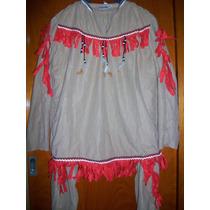 Disfraz De Aborigen Indio Para Adulto , Importado Excelente