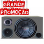 Caixa Trio Completa Pioneer 640 W 12 Polegadas Mais Brinde