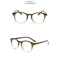 Armação Óculos De Grau - Acetato Redondo Masculino Feminino