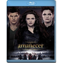Blu Ray Crepusculo Amanecer Parte 2 Breaking Dawn Tampico