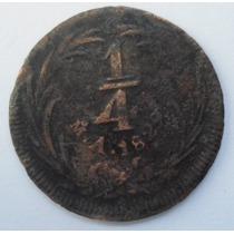 1/4 Real 1829 República Mexicana : Año 1 - Acuñación 1