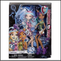 Monster High Scare Y Maquillaje Dos Paquete Con Viperina Gor
