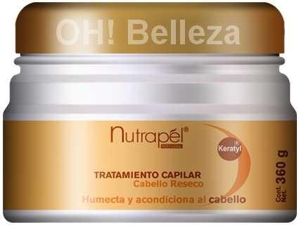 tratamiento nutrapel para cabello reseco 360 gr 60 00