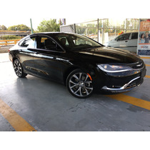 Chrysler 200 4p 200c L4 2.4 Aut 2015 Piel Gps