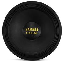 Alto Falante Woofer Eros E 12 Hammer 3.0k 1500w Rms 12 Poleg