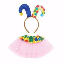 Fantasia Infantil De Palhaço P Crianças De 3 A 8 Anos