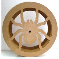 Carretilha Para Pipa De Madeira 38cm Corte/laser