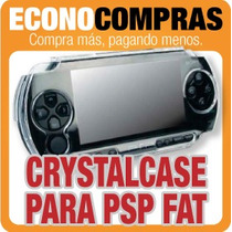 Funda Crystal Case Para Sony Psp Fat Mod. 1000 100% Nueva