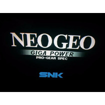 Placa Neo Geo Mvs + Cartucho King 97 Ou 98