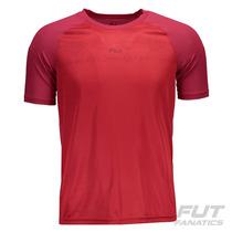 Camiseta Fila Abu Vermelha - Futfanatics