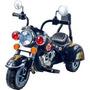 Harley Style Monte En Pilas De La Motocicleta De Tres Rue