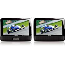 Dvd Portable Philips Pd701377 2 Pantallas Lcd Tft 7