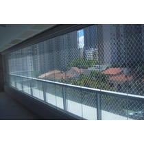 Rede De Proteção Janelas Sacadas Apartamentos Com Kit