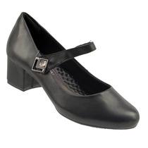 Sapato Boneca Ramarim Liso Salto Baixo Feminino 1595106