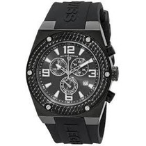 Reloj Swiss Legend Throttle 30025-bb-01-sa Para Hombre Negro