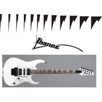 Stickers Vinil Inlays Guitarra Electrica Ibanez Shark Tooth