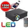 Mini Proyector Led Uc46 1200 Lumens Hdmi 1080p Wifi Mod 2016