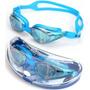 Óculos De Natação Hd Profissional Adulto Impermeáv Anti-emb